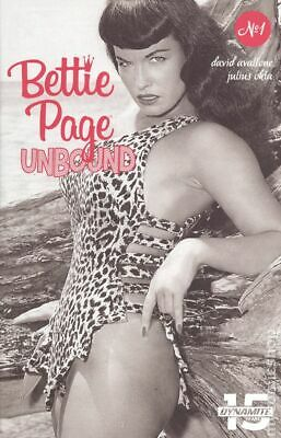 Bettie Page Unbound 1E Photo Variant NM 2019 Stock Image