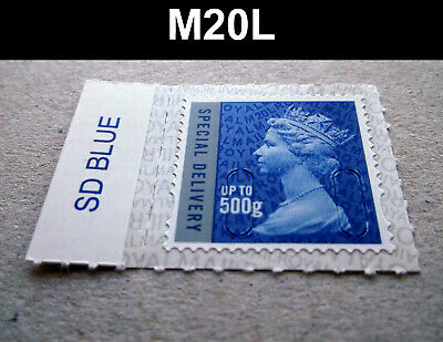 NEW MAY 2020 SPECIAL DELIVERY 500g M20L MACHIN SINGLE with COLOUR TAB - U3052