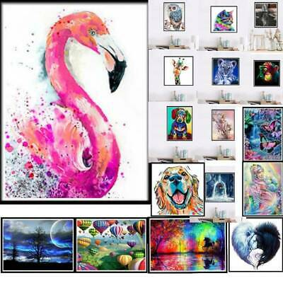 5D Diamond Painting Animal Cross Stitch Hand DIY Embroidery Art Decor Crafts Kit
