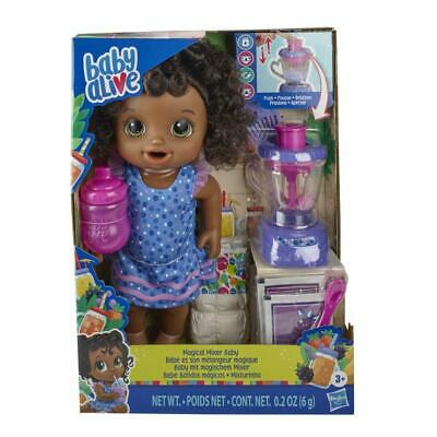 Baby Alive Magical Mixer Baby Doll Blueberry Blast *BRAND NEW*