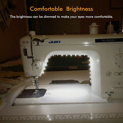 1x Sewing Machine LED Bright Light Strip With Dimmer Power USB Supply Q3W1
