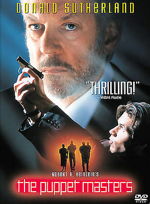 The Puppet Masters (DVD, 2002) Donald Sutherland WORLD SHIP AVAIL