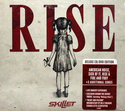 Skillet Rise CD/DVD Deluxe Edition Christian Symphonic Alternative Rock Music
