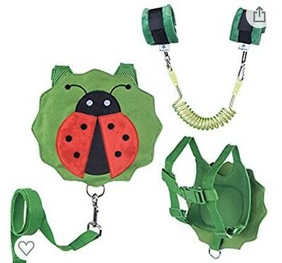Child Toddler Safety Harness Leash With Wrist Link