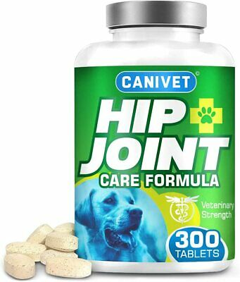 Dog Joint SUPPLEMENT support (300 tablet) Arthritis Healthy Joints + Glucosamine