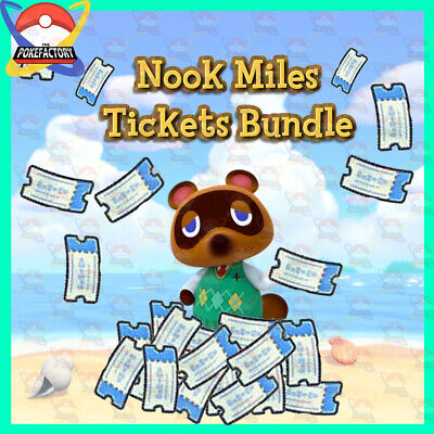 Animal Crossing New Horizons🏠: Nook Miles Ticket Service Collection - 🎫 LEGIT!