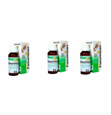 3X Espumisan Original Baby Anti Colic oral drops.Meteorism,Stomach Aches.30ml