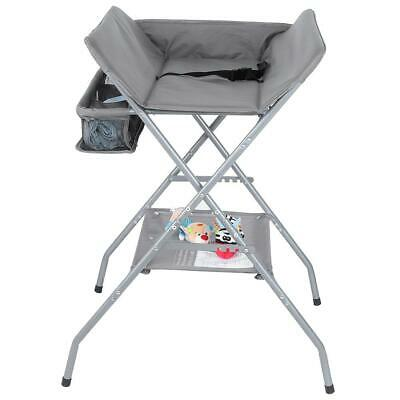 Multifunctional Folding Infant Baby Diaper Changing Table w/ Large Storage Space