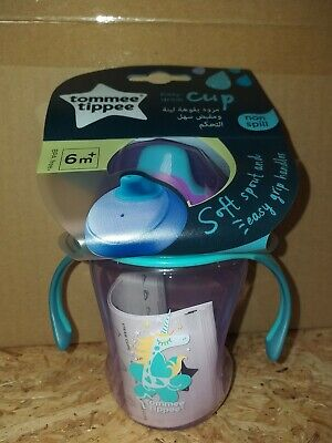 Tommee Tippee Soft Spout Easy Drink Cup 6m+ 230ml pink unicorn