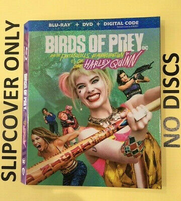 Birds of Prey (2020) - Blu-ray Slipcover ONLY - NO DISCS