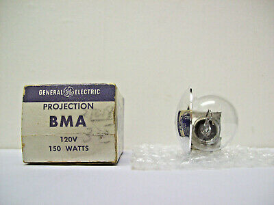 BMA Projector Projection Lamp Bulb 120V  150W  GE BRAND