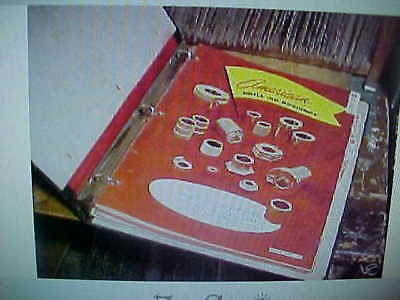 """1964 Binder Of """"American"""" Jig And Tooling Parts Guides"""