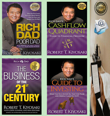 Rich Dad Poor Dad +The Business of the 21st Century+2 others By Robert Kiyosaki