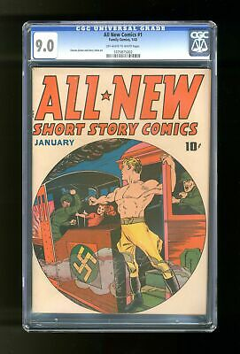 All-New Comics #1 CGC 9.0 1943 1075875002