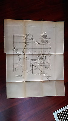 1880 Sketch Map, Plat of Mora Grant, Fort Union Military Reservation