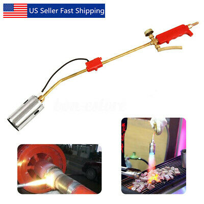 Portable Weed Lawn Landscape Torch Burner Hot Air Ice Melter Melting Garden  C