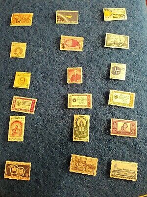 Us postage stamps collections lots unused mint. 4 cent stamp lot.