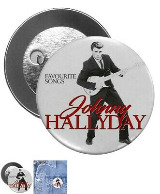 Johnny hallyday grand badge