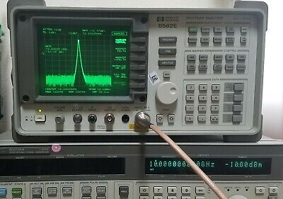 HP 8562E 13.2GHz - Freshly Aligned and Calibrated - Spectrum Analyzer -  Agilent