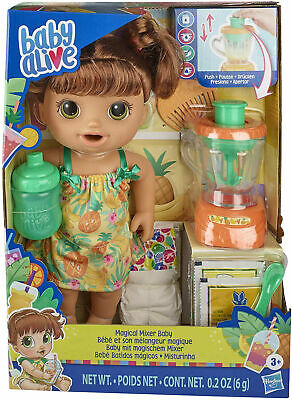 Baby Alive Magical Mixer Baby Brown