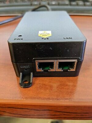 LTS POE-I100G-LITE Single Gigabit Port Power Over Ethenet Plus PoE+Injector