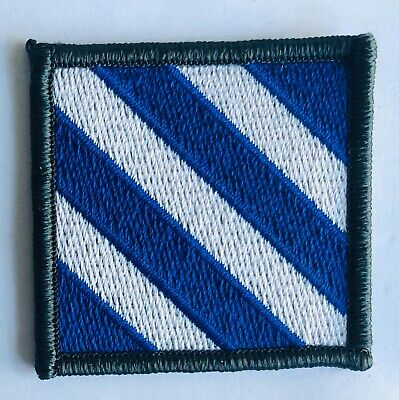 US ARMY 3rd INFANTRY DIVISION PATCH SSI COLOR