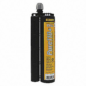 DEWALT ENGINEERED BY POWERS Anchoring Adhesive,20.0 oz.,Epoxy, 08320SD-PWR