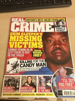 Real Crime Killer Casefiles Magazine Issue 39 Grim Sleeper's Missing Victims