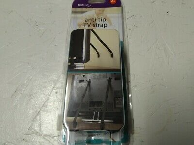 KidCo Anti-tip TV Strap, 2 Count New-OPEN BOX