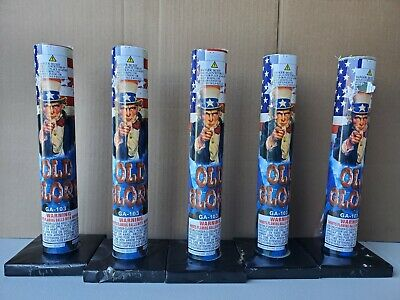 Old Glory Collectible Canister Tubes X5 (Tubes Only)