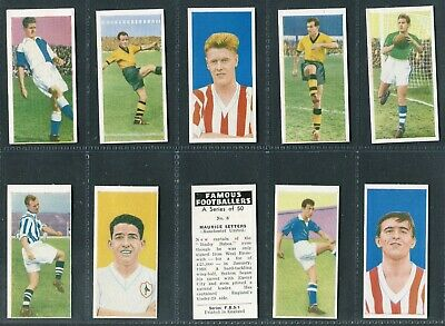 Primrose 1961 - Famous Footballers (F.b.s.i.) - Pick Your Card
