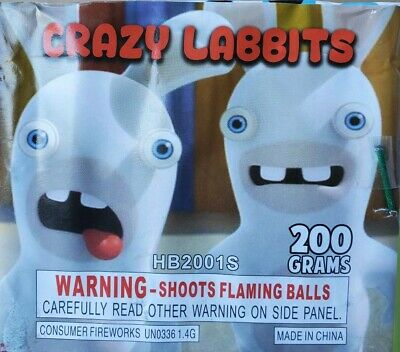 Crazy Labbits Collectible Cake Label