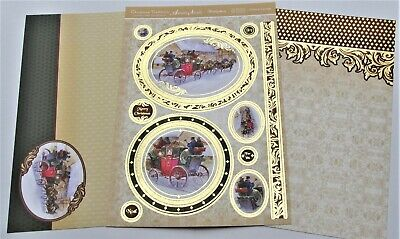 Hunkydory Victorian Christmas Carriage Toppers /& Card Kit