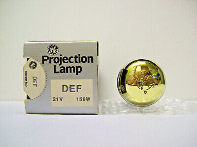 DEF Projector Projection Lamp Bulb 150W  21V GE Brand  *10-HR LAMP*