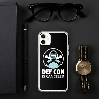 DEF CON is canceled MASKED FIGURE phone case DEFCON 2020 Defcon 29 iPhone Case