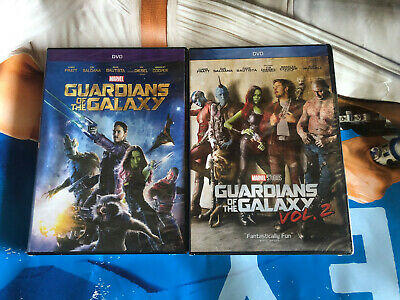 Guardians of the Galaxy 1 and 2 DVD MARVEL Movie Bundle Brand New!
