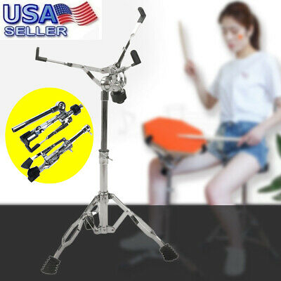 Snare Drum Stand Multiple Triangle Bracket Hardware Double Braced Holder US
