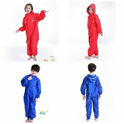 Children raincoat rain pants jumpsuit Boys girls windproof waterproof raincoat