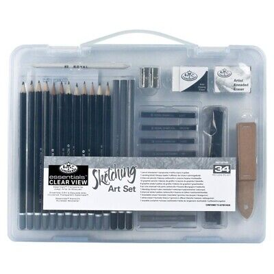 Royal & Langnickel Essentials Clear View Sketching Art Set