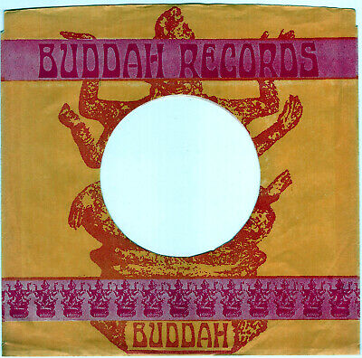 Buddah Records Company 45Rpm Record Sleeve - M- Condition