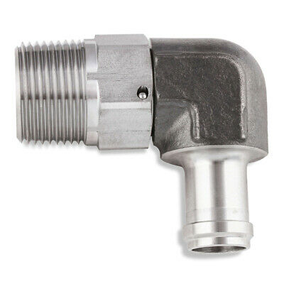 5/8 Male Barb to 3/4 Npt Male Swivel Fitting SS