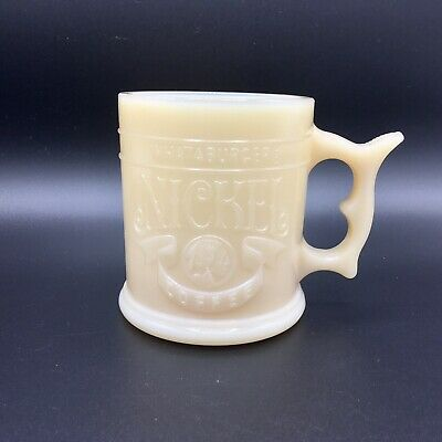SHIPS FAST - Vintage Whataburger What-A-Burger Nickel Coffee Mug - EXCELLENT
