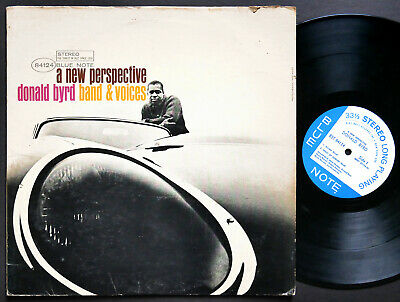 DONALD BYRD A New Perspective LP BLUE NOTE 84124 US 1964 NY RVG JAZZ Hank Mobley