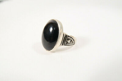 Tuareg Ring mit Stein Agadez BZ38 Tuareg Ring with Stone Silver Bague Afrozip