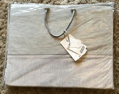 Mamas & Papas Welcome to the World Grey Tie Top Curtains 132cm X 160cm