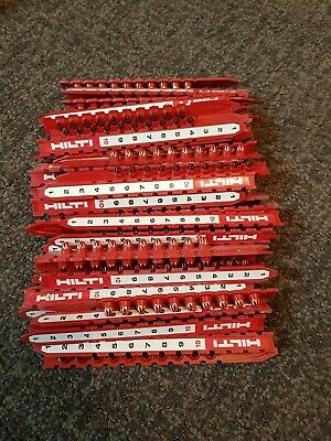 Red Cartridges/Shots For Hilti Dx350/351/36M/450/451/A40/A41/460/462  Pack 570