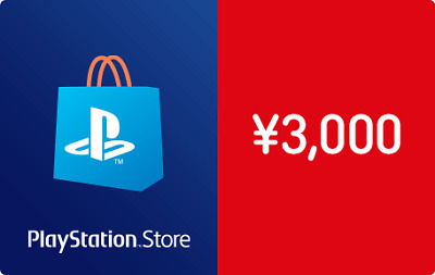 Japan Sony PlayStation network PSN card 3000Yen Digital code