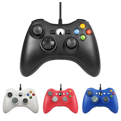 USB Console Wired Gamepad Controller Joypad For Microsoft XBOX 360 Windows 10 PC