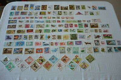 Job Lot 150 Used Hungary Postage Stamps - Off Paper (Set 1)