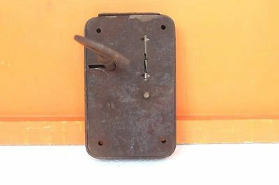 Iron Lock and Key Old Vintage Antique Very Rare Door Big Collectible F-7